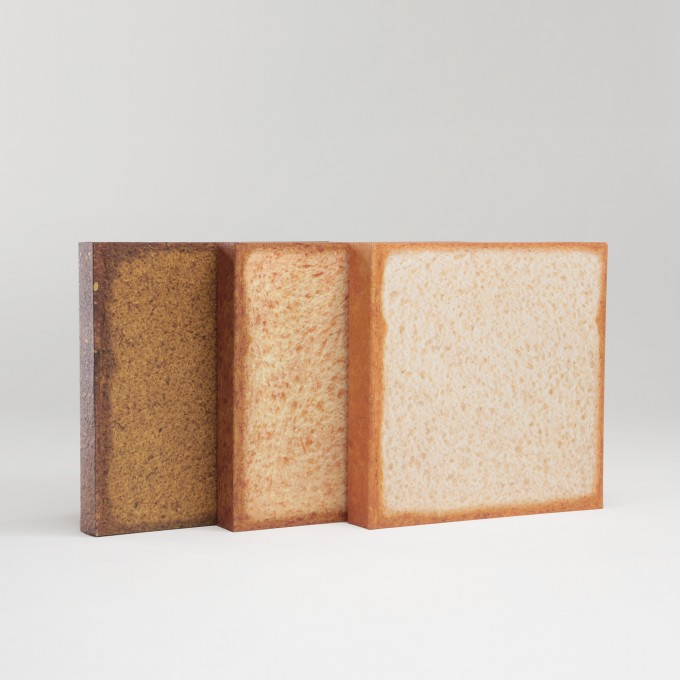 麵包系列橫線本  - 全麥包