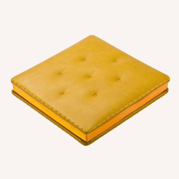 Cookie Bookie Lined Notebook – Cheese Cracker