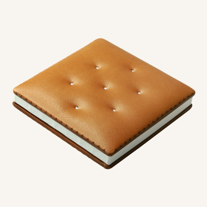 Cookie Bookie Lined Notebook – Vanilla Cracker