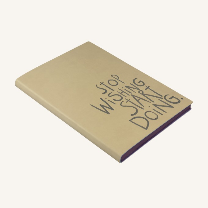 Signature Inspiro Lined Notebook – A5, Caramel
