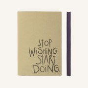Signature Inspiro Lined Notebook – A5, Caramel