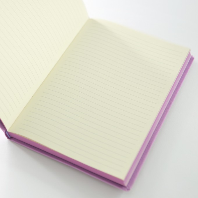 Make My Day Lined Notebook – A5, Purple