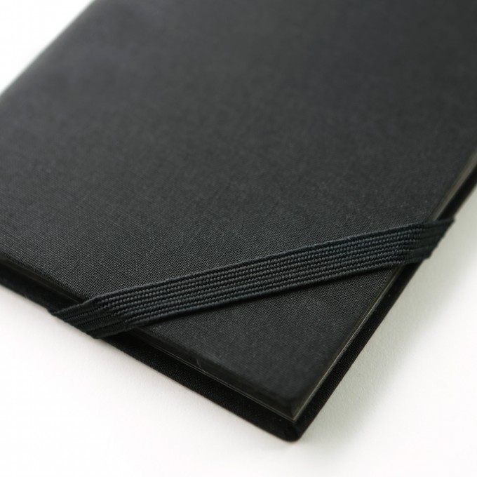 Make My Day Lined Notebook – A6, Black