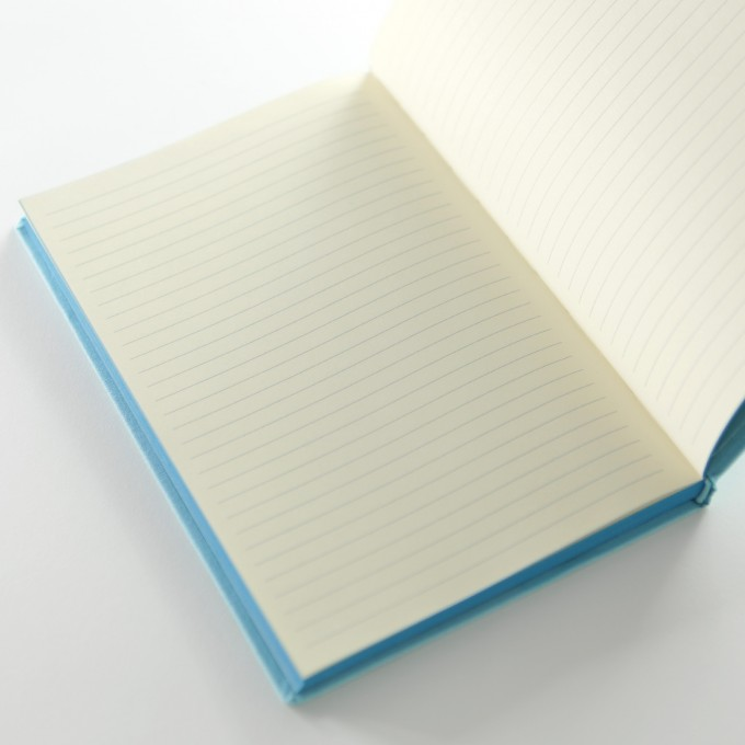 Make My Day Lined Notebook – A5, Sky Blue