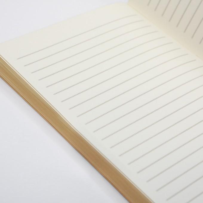 slab lined notebook a6 gold daycraft make my day