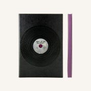 Signature Retro Plain Notebook  – A5, Vinyl