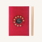 Signature Retro Plain Notebook  – A5, Rotary