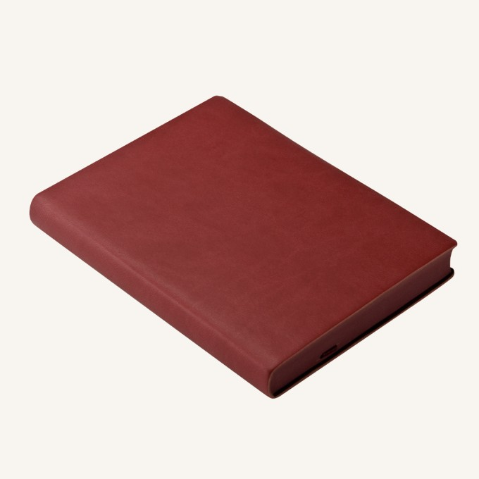 2019 Signature Diary – A6, Red, English version