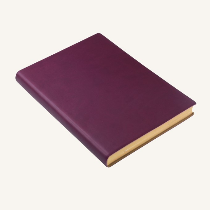 2020 Signature Diary – A5, Purple, English version