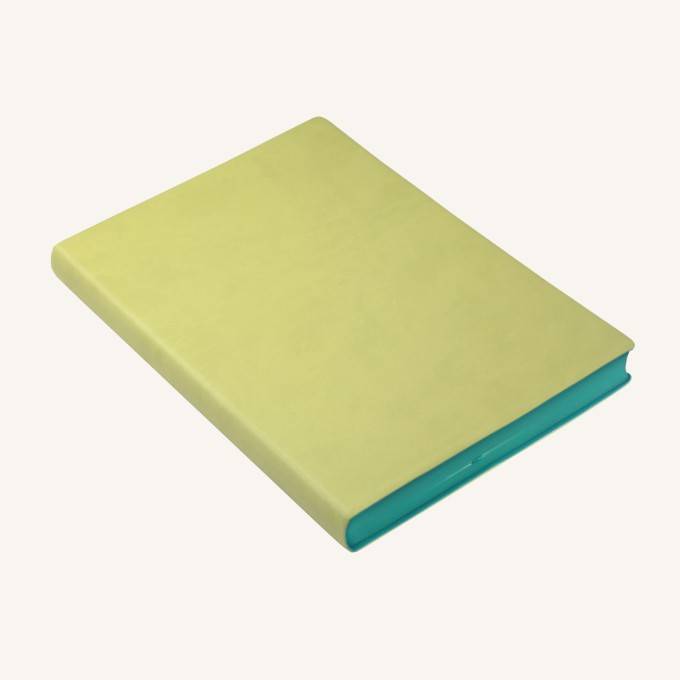 2018 Signature Diary – A5, Light Green, English version