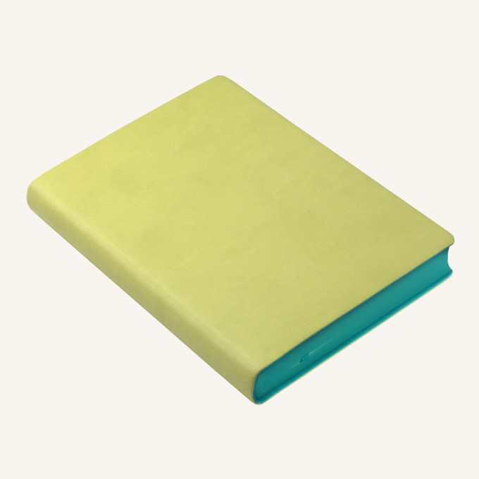 2018 Signature Diary – A6, Light Green, English version