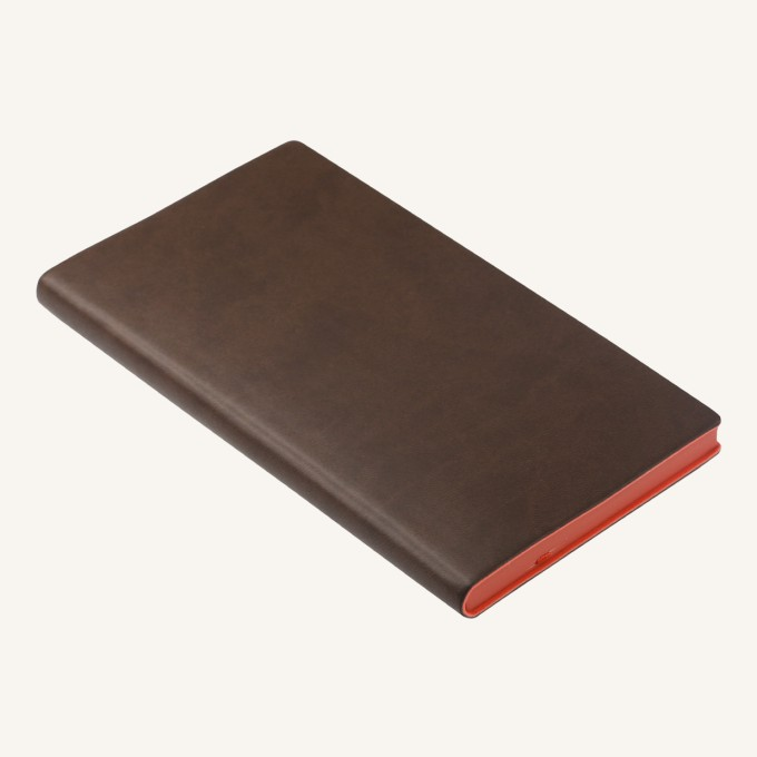 2019 Signature Diary – Pocket, Brown, English version