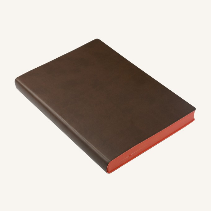 2020 Signature Diary – A5, Brown, English version