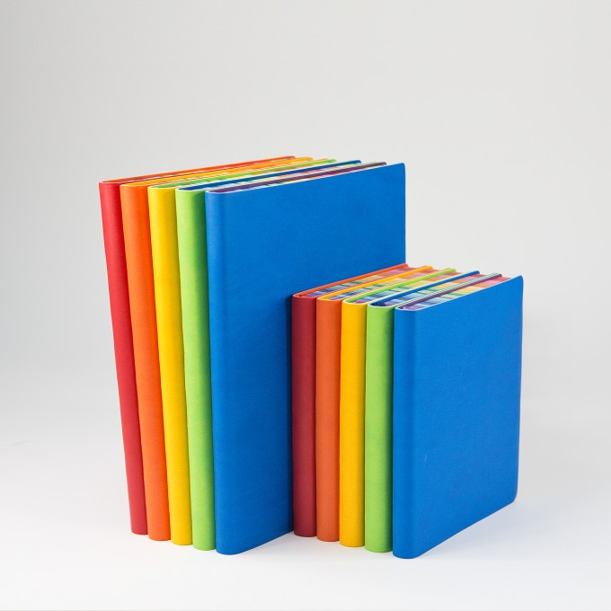 2017 Signature Chromatic Diary – A6, Blue, English version