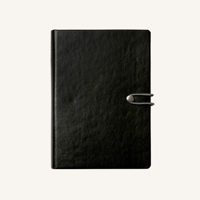 2018 Executive Diary – A5, Black, English version
