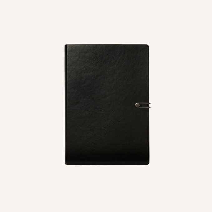 2018 Executive Diary – A6, Black, English version