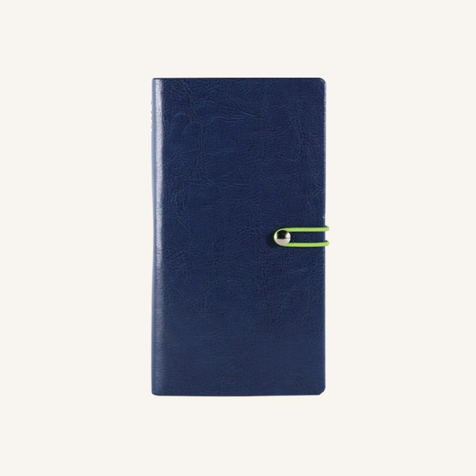 2018 Executive Diary – Pocket, Dark Blue, English version
