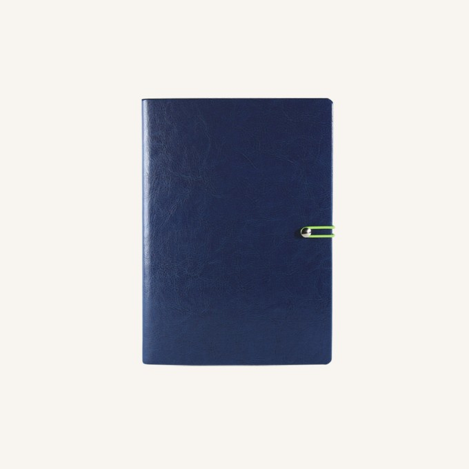 2018 Executive Diary – A6, Dark Blue, English version