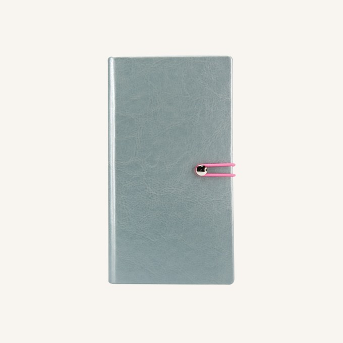 2018 Executive Diary – Pocket, Silver, English version