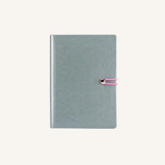 2017 Executive Diary – A6, Silver, English version