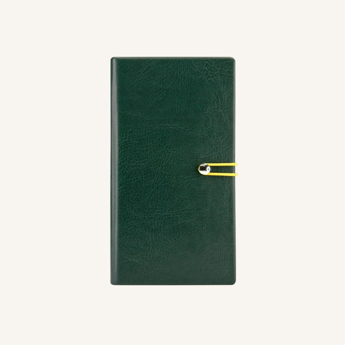 2018 Executive Diary – Pocket, Green, English version