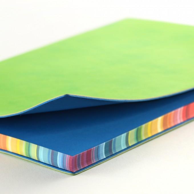 2017 Signature Chromatic Diary – A5, Green, English version