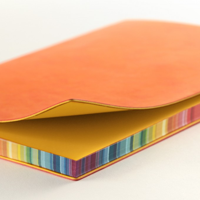 2020 Signature Chromatic Diary – A5, Orange, Chinese version