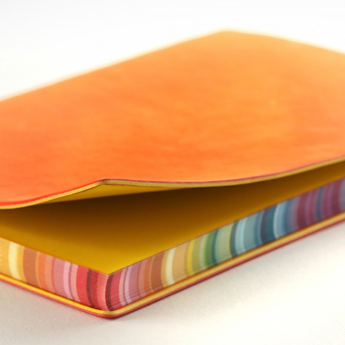 2020 Signature Chromatic Diary – A6, Orange, Chinese version