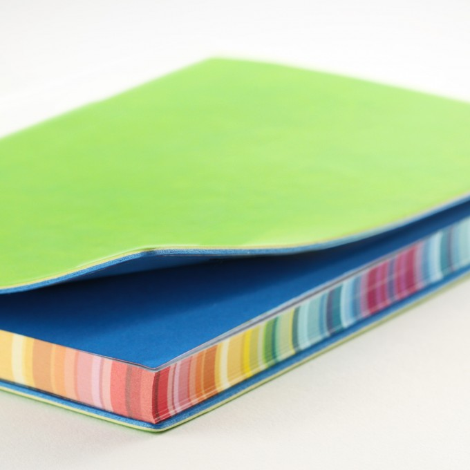 2017 Signature Chromatic Diary – A6, Green, Chinese version
