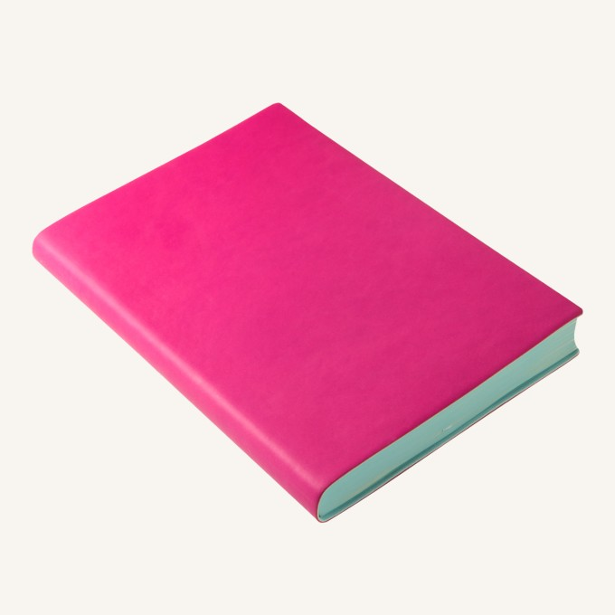 2017 Signature Diary – A5, Magenta, English version