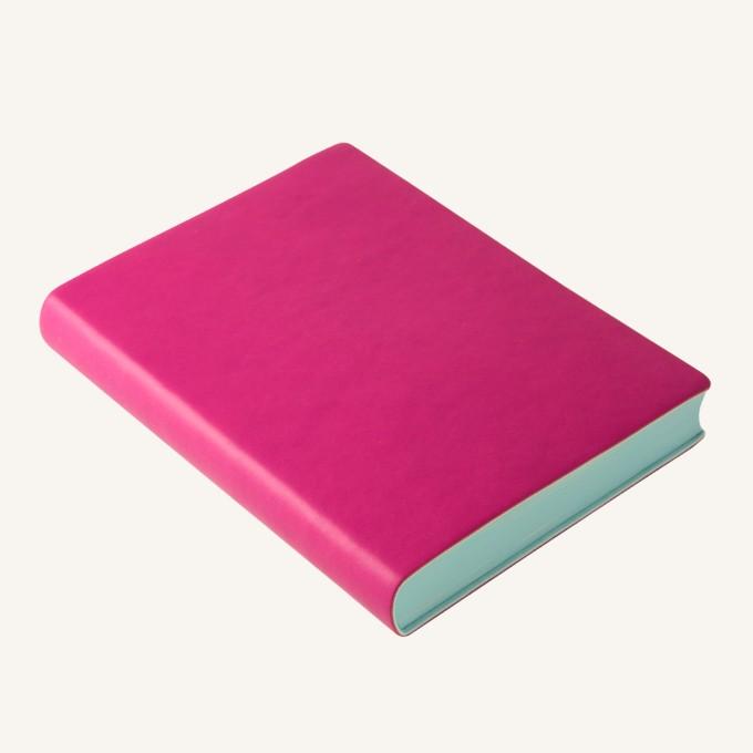 2017 Signature Diary – A6, Magenta, English version