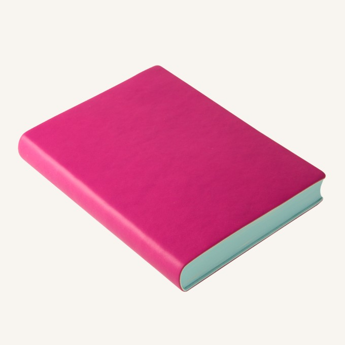2018 Signature Diary – A6, Magenta, English version
