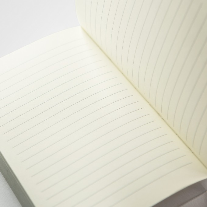 Slab Lined Notebook – A6, Sliver