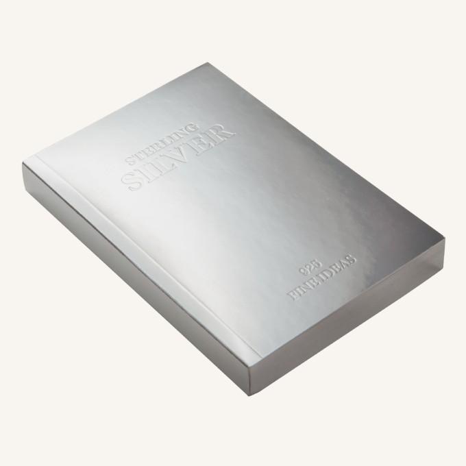 金木石系列橫線本 – A6, 銀