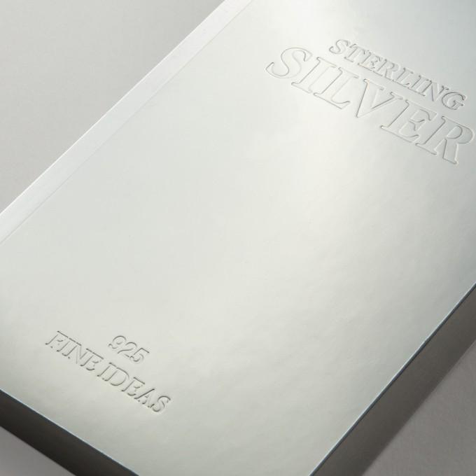 Slab Lined Notebook – A6, Sliver