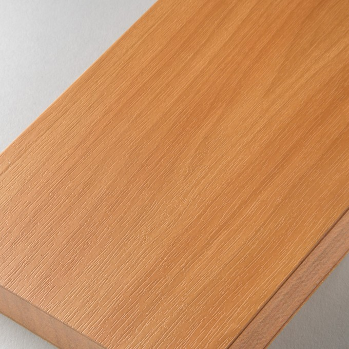 Slab LIned Notebook – A6, Teak