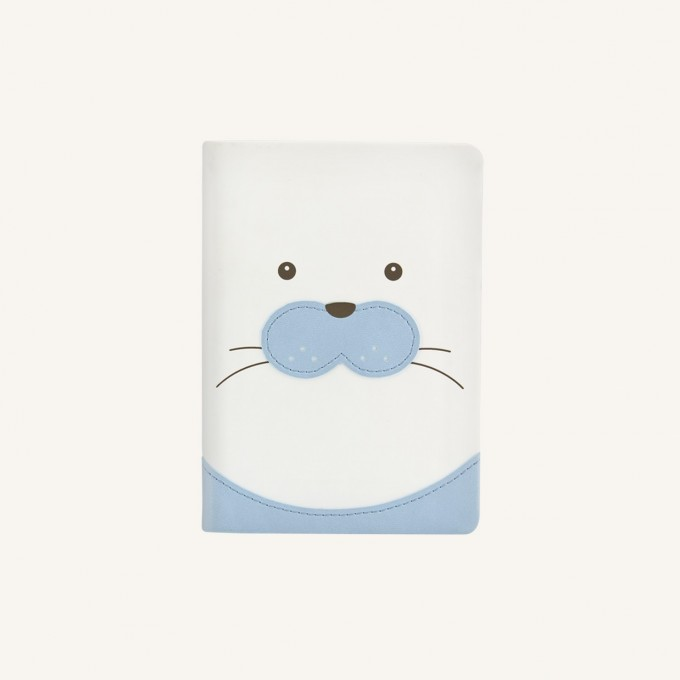 Animal Pals Lined Notebook – A6, Baby Seal