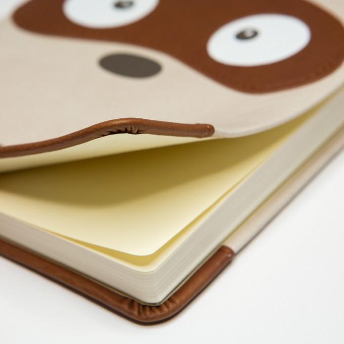 2018 Animal Pals Diary – A6, Tanuki