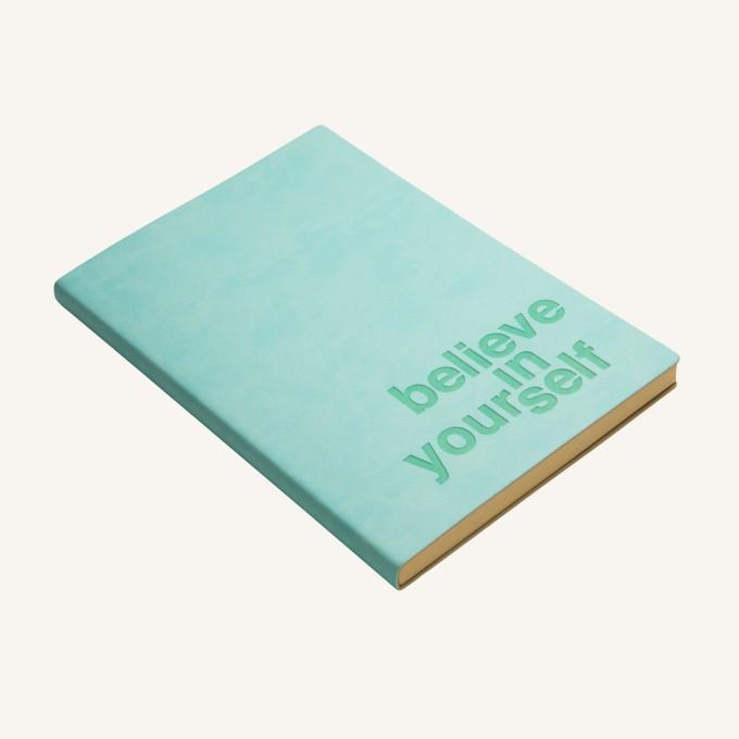 Signature Inspiro Lined Notebook – A5, Blue