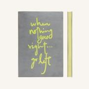 Signature Inspiro Lined Notebook – A5, Grey