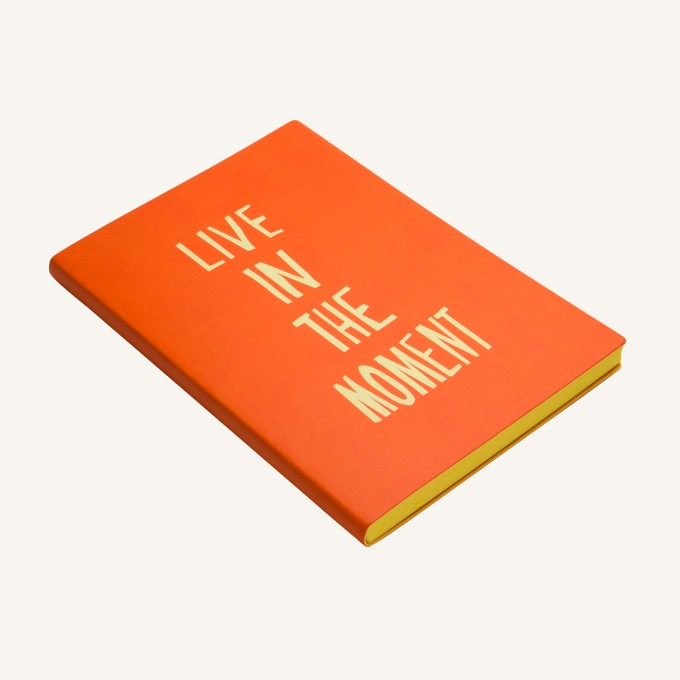 Signature Inspiro Lined Notebook – A5, Orange