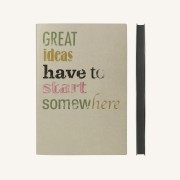 Signature Inspiro Lined Notebook – A5, Apple Sauce