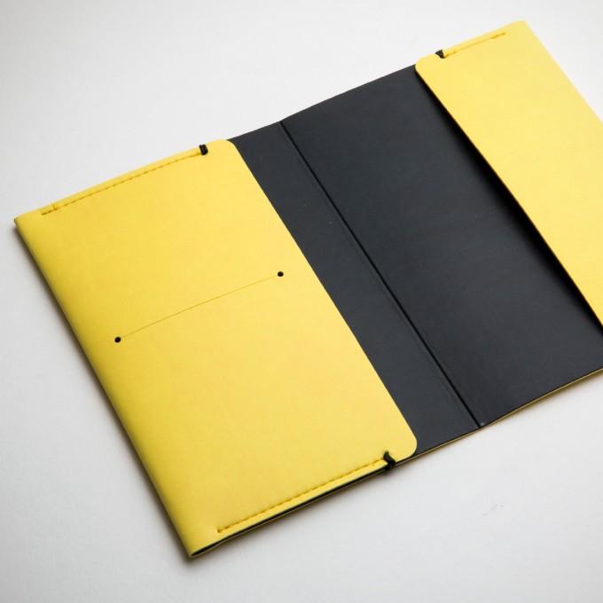 Passport Holder - Yellow