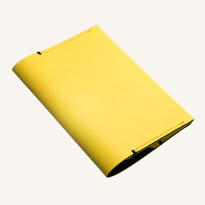 Passport Holder - Yellow