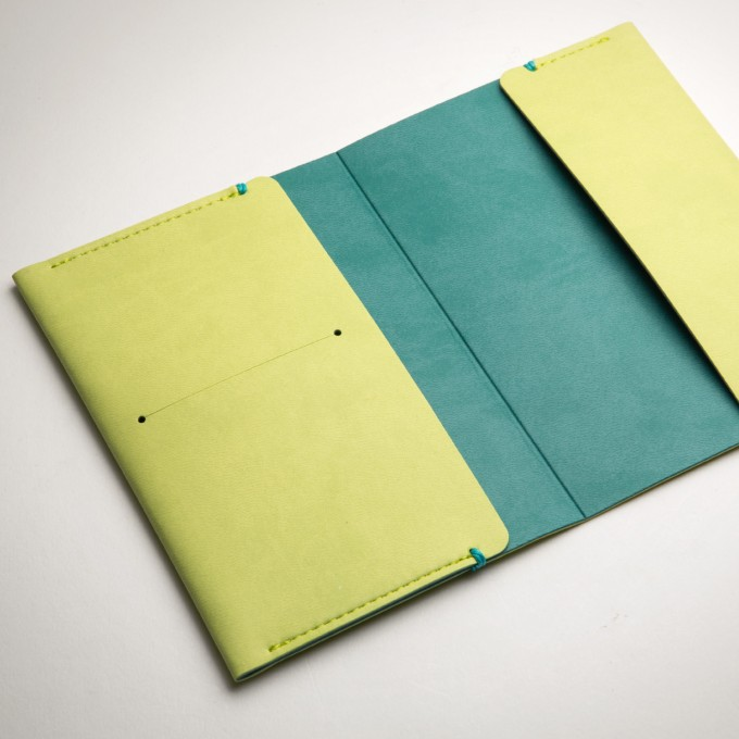 Passport Holder - Light Green