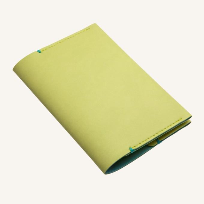 Passport Holder - Light Green