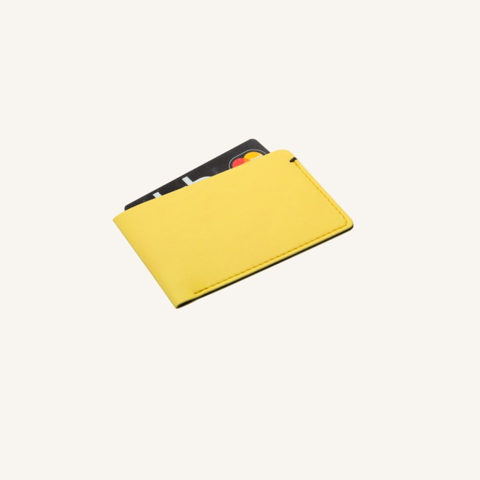 Card Pocket – Yellow