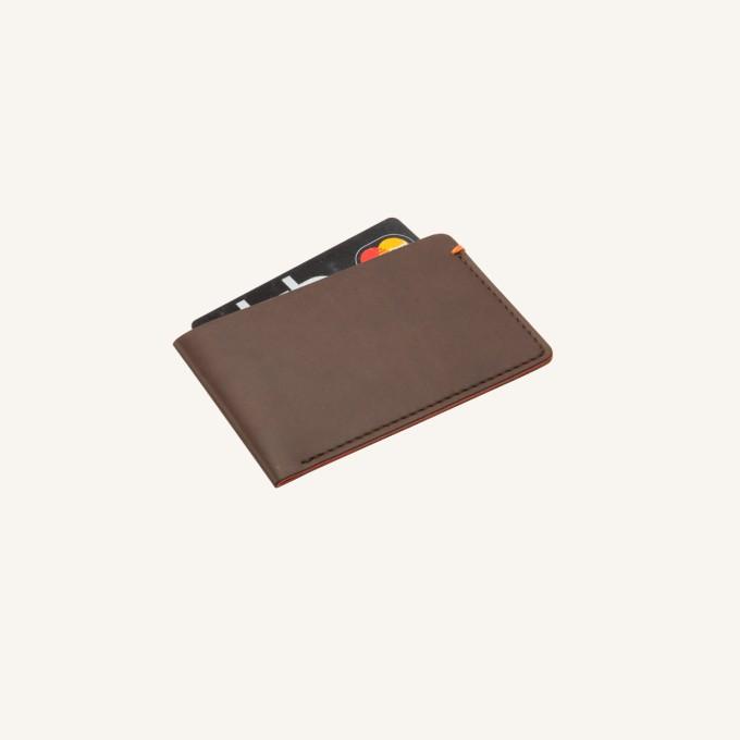 Card Pocket – Brown
