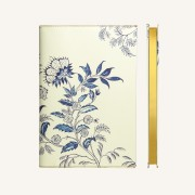 Flower Wow Lined Notebook – A5, Ceramic White