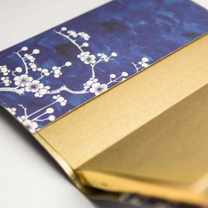 花花世界系列橫線本 – A5, 陶瓷藍